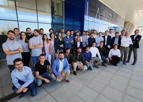 Una imagen grupal de Lanzadera