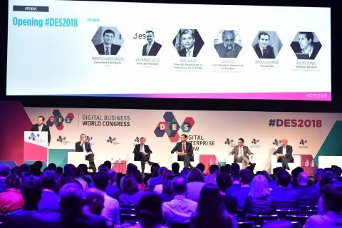 Inauguración de la conferencia DES 2018.