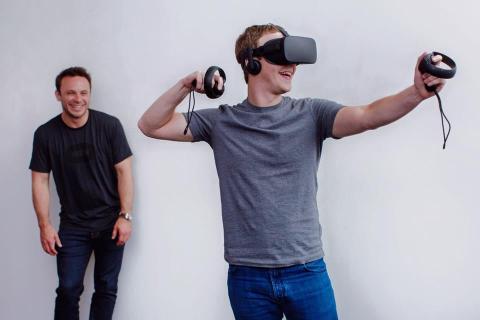 También compró el fabricante de aparatos de realidad virtual Oculus.