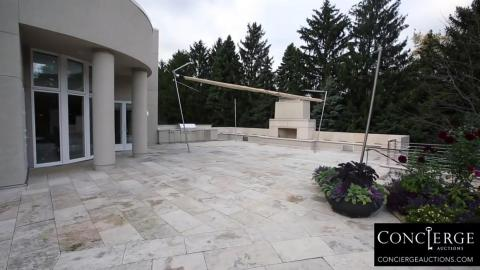 Just one section of the patio.