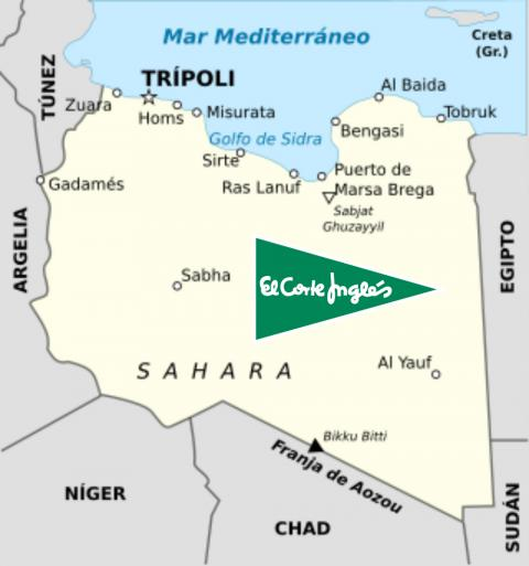 Libia el corte inglés