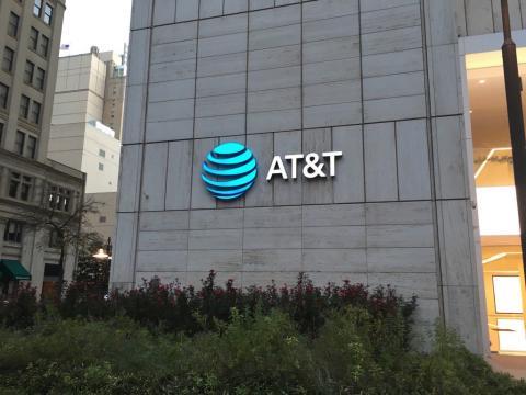 Logo de AT&T en Texas