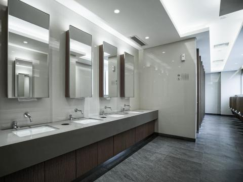 Luxury toilets — $50,000 (£35,000). A necessity when you're accommodating hundreds of guests.