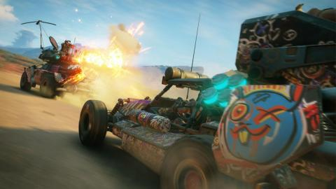 """Pictured: """"Rage 2,"""" the unexpected game that was first revealed by Walmart's Canadian web storefront."""