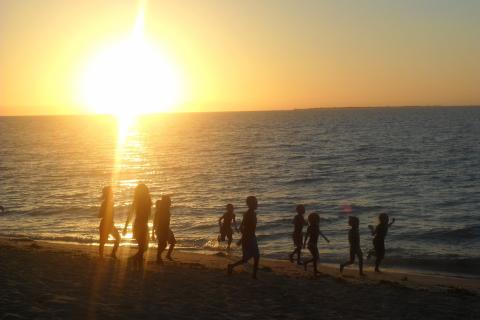 Playa de Anakao en Madagascar