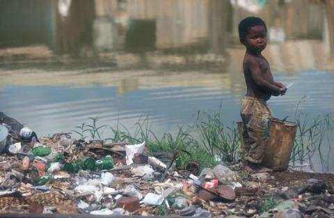 Madagascar niño en Antanarativo