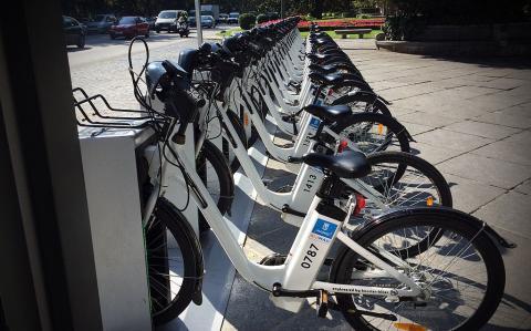 Madrid, bicicletas