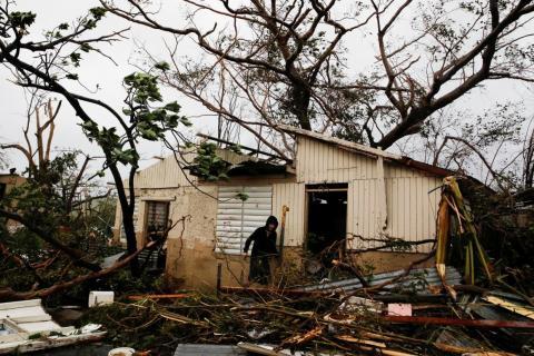 The Crisis: Hurricane Maria's devastation in Puerto Rico
