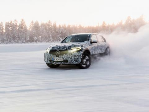 Mercedes-Benz will launch its EQ electric vehicle brand with the EQC SUV in 2019.