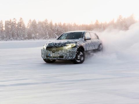11. Mercedez-Benz EQC