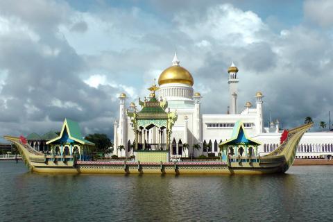 Mezquita en Brunei