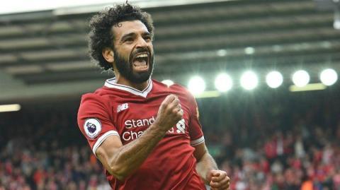 Mohamed Salah es un ídolo en Egipto, y su rostro aparece en multitud de anuncios y carteles publicitarios.