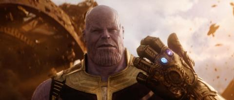 "10. Josh Brolin as Thanos in ""Avengers: Infinity War"" (2018)"