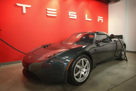 Musk took an active product role at Tesla, helping develop its first car, the Roadster.