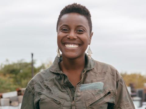 Naa-Sakle Akuete es la fundadora y CEO de Eu'Genia Shea.