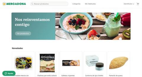 Nueva plataforma online mercadona