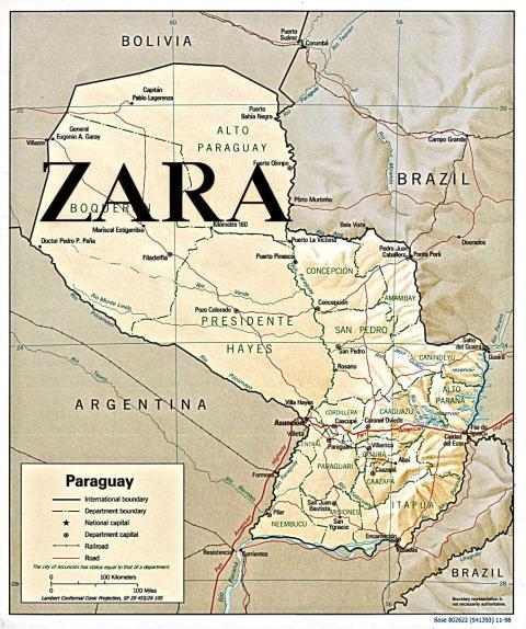 Paraguay Zara