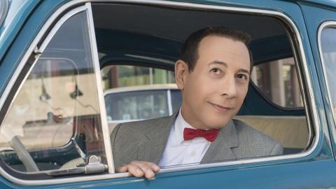 Fotograma de 'Pee Wee's Big Holiday', una película original de Netflix.