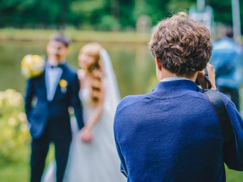 Photographer/Videographer — $24,300 (£17,000). Press will not be allowed inside the reception, so a private wedding photographer and videographer will be tasked with capturing the entire day. They'll also put together multiple