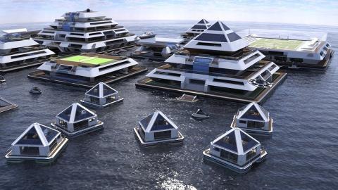 se buscan habitantes para ciudad flotante