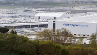 Planta de Volkswagen en Pamplona