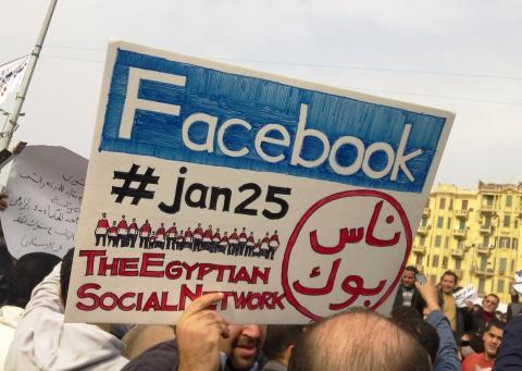 En ese momento, Facebook estaba demostrando que su red social podía jugar un papel importante en la política global.