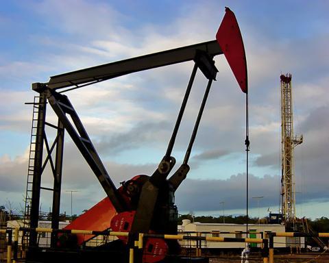 Pozo de petróleo en Venezuela