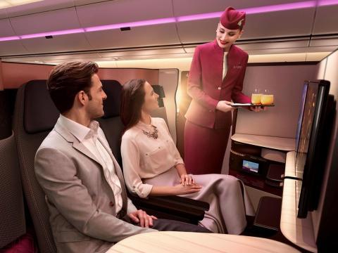 Business Class en Qatar Airways