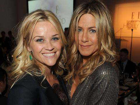Reese Witherspoon y Jennifer Aniston.
