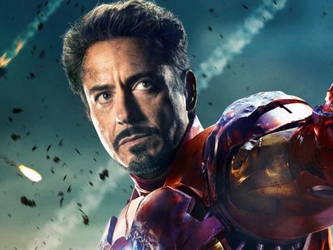 """Robert Downey Jr. en """"Los vengadores"""""""