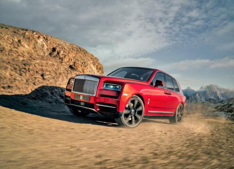 Rolls-Royce will join the SUV game in 2019 with the new Cullinan.