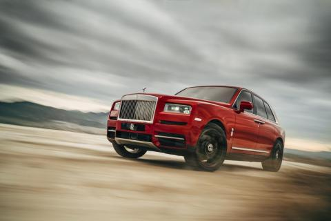 The Rolls-Royce Cullinan will be built on the company's new aluminum Architecture of Luxury platform that's ...