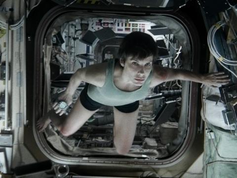 "Sandra Bullock en ""Gravity"""