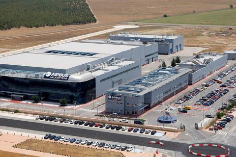 Sede de Airbus en Albacete