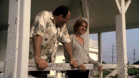 """""""The Sopranos"""" — season 4 episode 13, """"Whitecaps"""""""