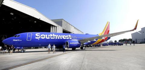 A Southwest Boeing 737.