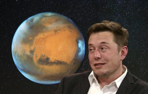 SpaceX's long-term goal is to make colonizing Mars affordable.