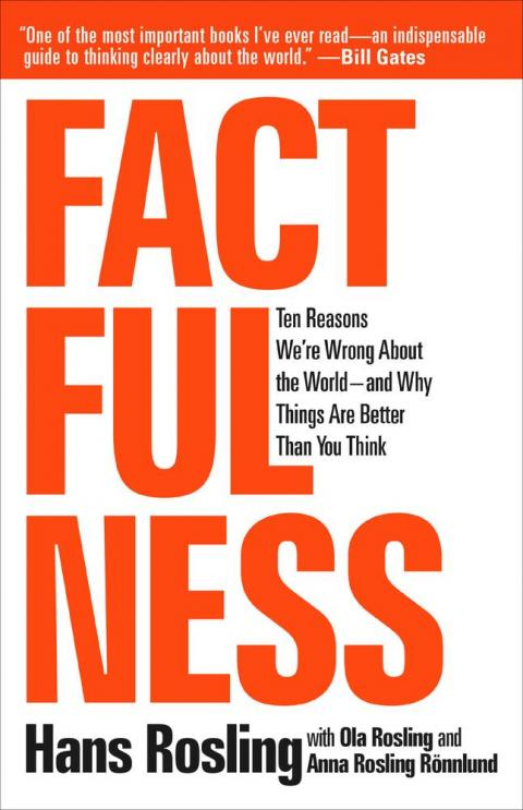 "Steven Pinker: ""Factfulness"" by Hans Rosling"