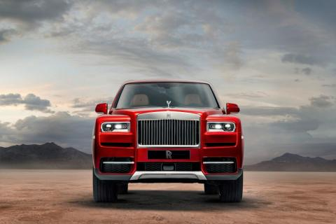 Styling-wise, the Cullinan is unmistakably a Rolls-Royce with the company's vertical grille dominating the SUV's front fascia.