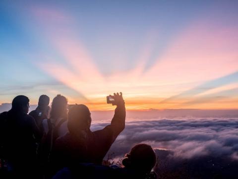 """Luego, me dirigí a Bali, Indonesia, para relajarme. La ciudad de Ubud es famosa por ser un centro espiritual y místico para los balineses - Ubud significa """"medicina"""" -. En las últimas décadas también lo es para los turistas."""