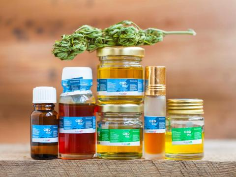 Besides beer-like drinks, a range of CBD products made from hemp are popping up in stores around the country.
