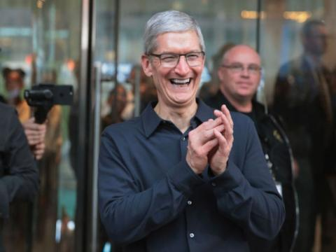 Tim Cook Getty