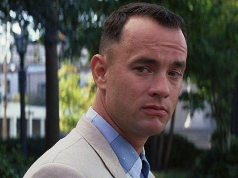 """Tom Hanks en """"Forrest Gump"""""""