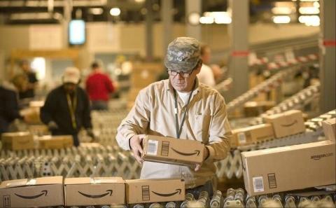 Trabajador de Amazon