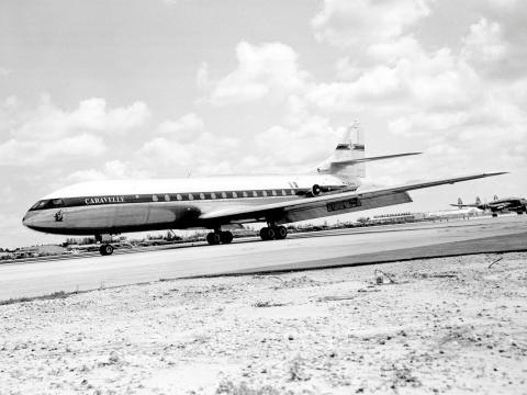 Turborreactor Sud Aviation Caravelle
