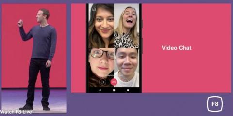 Presentación de la aplicación Video Chat de Facebook.