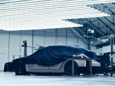 Some have speculated that Tesla showed part of the Model Y in a YouTube video released in early May.