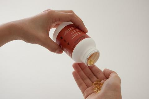 Vitamin D: Take it for bone health because it's hard to get from food.