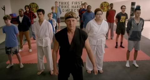 """Cobra Kai"" a YouTube Original."