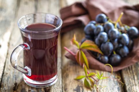 Zumo de uva, mosto